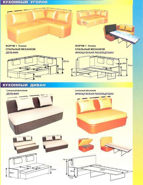 Схема и размеры