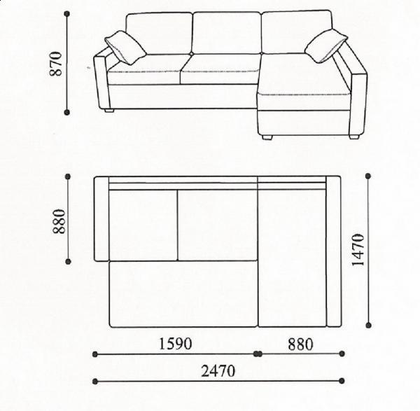 Схема мягкой мебели Лука