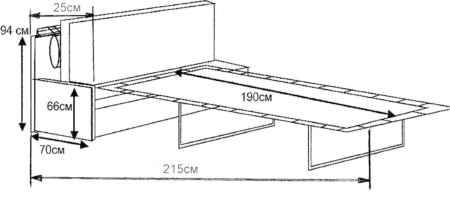 Раскладной диван для кухни своими руками чертежи 72